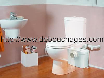 d bouchage canalisation paris 75 wc toilettes evier baignoire douche lavabo sanibroyeur. Black Bedroom Furniture Sets. Home Design Ideas